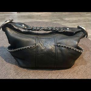 Betsey Johnson vintage leather western bag +duster